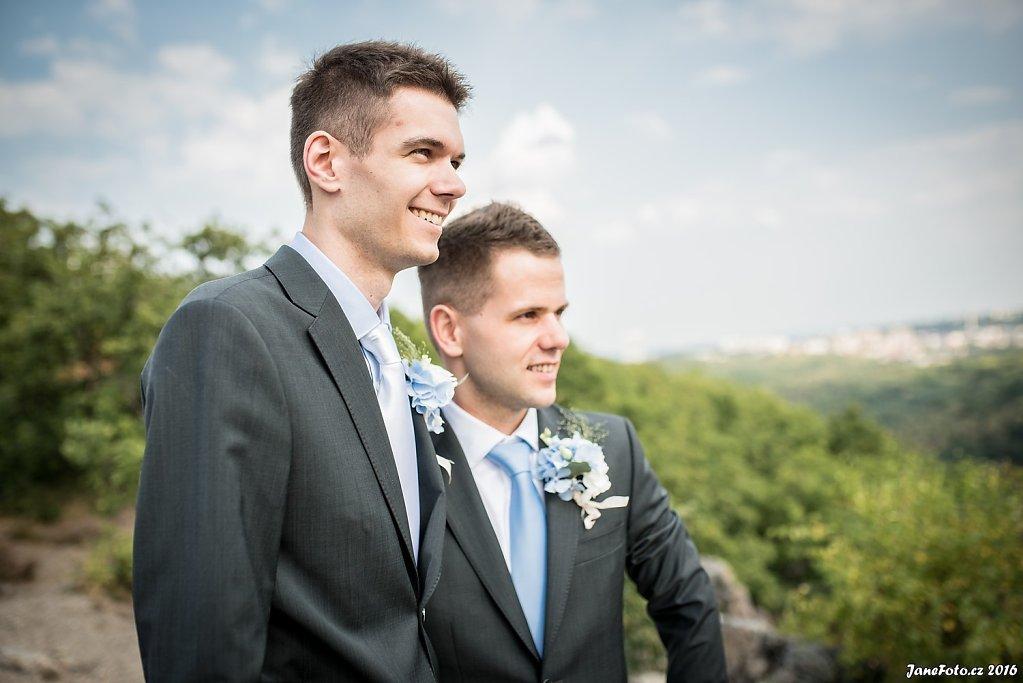 Honza a Tomáš - Praha