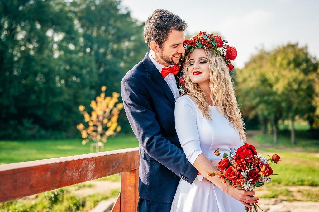 Svatební editorial s Luckou a Tomem